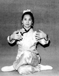 Tai Chi one leg balance.